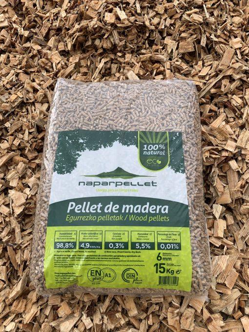 Saco de pellet de 15kg