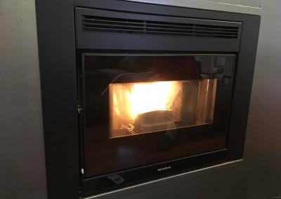 Insertable calefactable de pellet en Araia